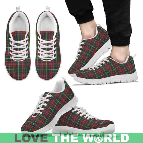 Mackintosh Hunting Modern Tartan Sneakers - Bn Mens Sneakers Black 1 / Us5 (Eu38)