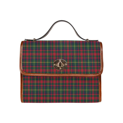 Mackintosh Hunting Modern Tartan Canvas Bag | Waterproof Bag | Scottish Bag