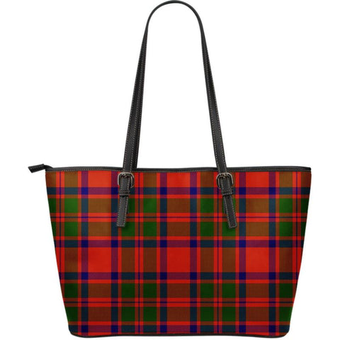 Mackintosh (Mckintosh) Clan Modern Tartan Handbag - Large Leather Tartan Bag