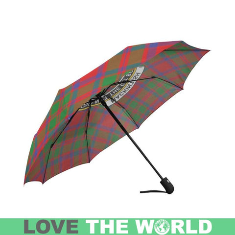 Mackintosh Modern Tartan Clan Badge Auto-Foldable Umbrella R1 Auto Foldable Umbrellas