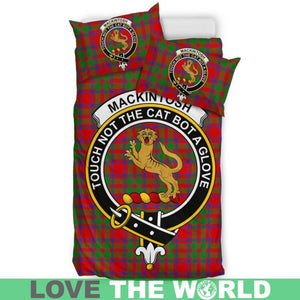 Mackintosh Modern Clan Badge Tartan Bedding Set K7