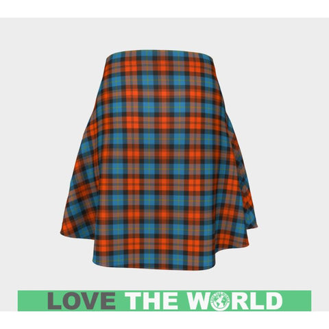 Tartan Skirt - Maclachlan Ancient Women Flared Skirt A9 |Clothing| 1sttheworld