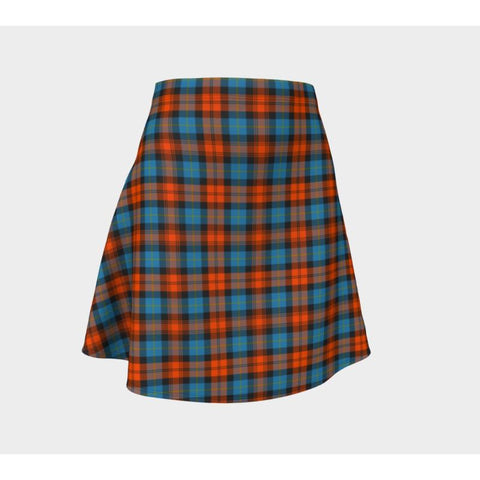 Image of Tartan Skirt - Maclachlan Ancient Women Flared Skirt A9 |Clothing| 1sttheworld