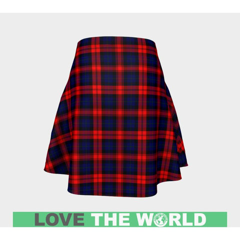 Tartan Skirt - Maclachlan Modern Women Flared Skirt A9 |Clothing| 1sttheworld