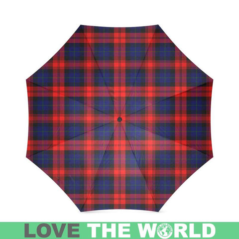 Image of Maclachlan Modern Tartan Foldable Umbrella Th8 |Accessories| 1sttheworld