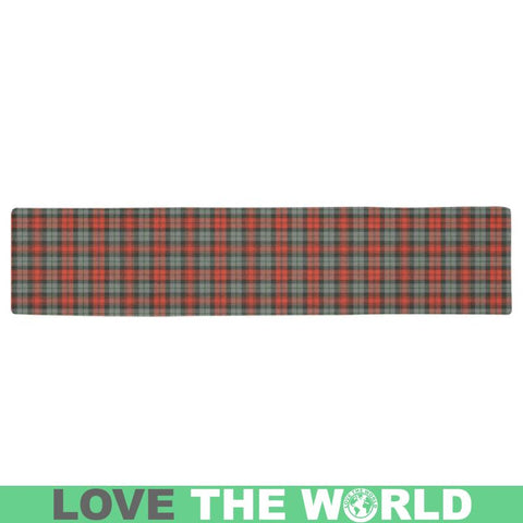 Maclachlan Weathered Tartan Table Runner - Tn Runners