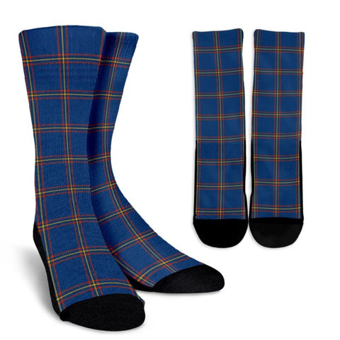 Maclaine Of Loch Buie Hunting Ancient Tartan Socks, scotland socks, scottish socks, Xmas, Christmas, Gift Christmas, noel, christmas gift, tartan socks, clan socks, crew socks, warm socks