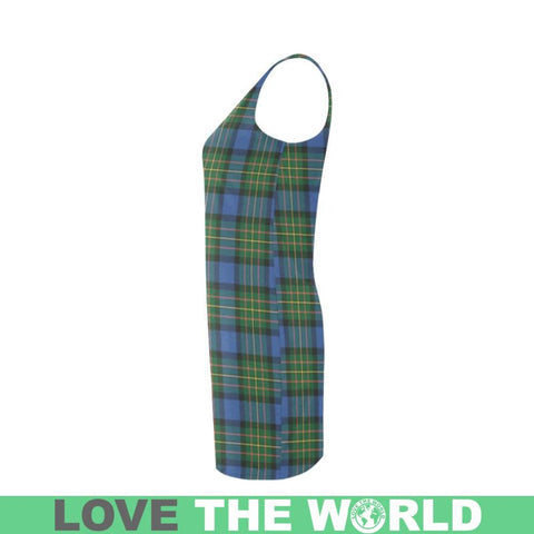 Maclaren Ancient Tartan Medea Vest Dress | Women Dresses | 1sttheworld