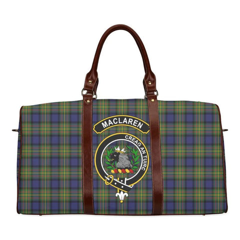 Tartan Travel Bag - Maclaren Clan | Scottish Travel bag | 1sttheworld