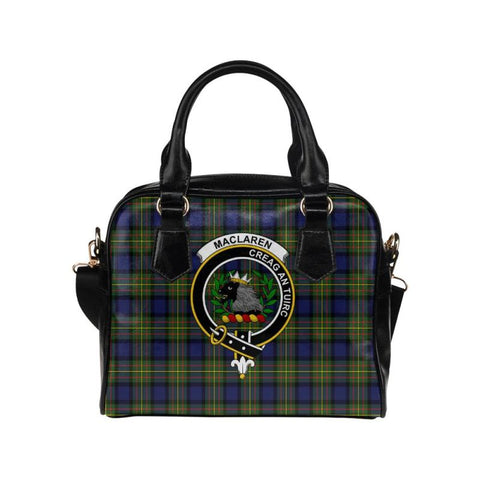 Image of Maclaren Modern Tartan Shoulder Handbag - Bn Pu Handbags