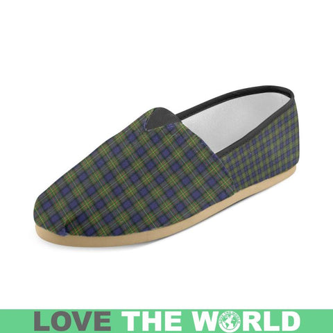 Maclaren Modern Tartan Womens Casual Shoes S7