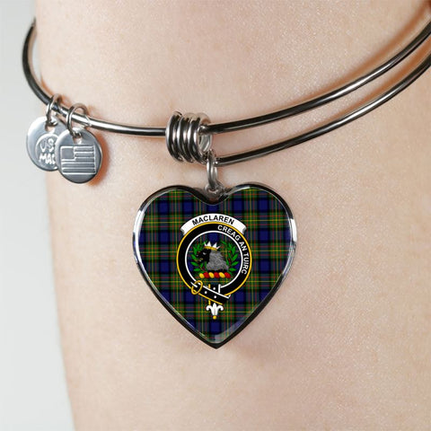Image of Maclaren Tartan Silver Bangle - Sd1 Jewelries