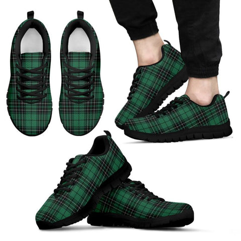 Maclean Hunting Ancient Tartan Sneakers - Bn Mens Sneakers Black 1 / Us5 (Eu38)