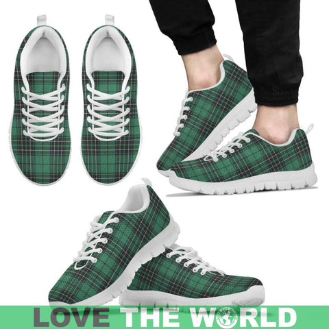 Image of Maclean Hunting Ancient Tartan Sneakers - Bn Mens Sneakers Black 1 / Us5 (Eu38)