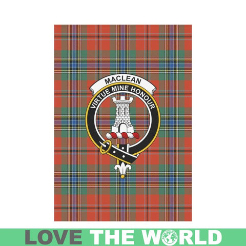 Image of Maclean Of Duart Ancient Tartan Flag Clan Badge K7 |Home Decor| 1sttheworld