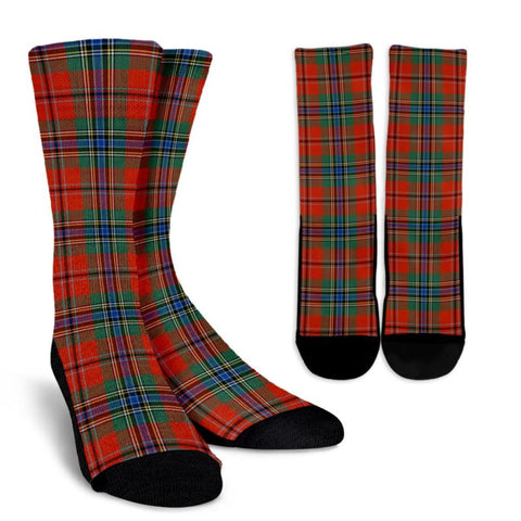 Maclean Of Duart Ancient Tartan Socks, scotland socks, scottish socks, Xmas, Christmas, Gift Christmas, noel, christmas gift, tartan socks, clan socks, crew socks, warm socks
