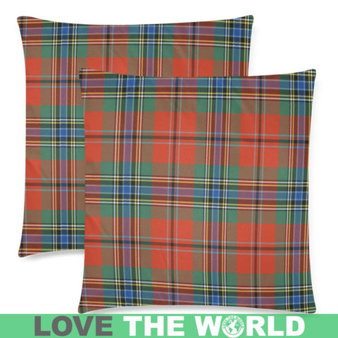 Maclean Of Duart Ancient Tartan Pillow Cases Hj4 One Size / Maclean Of Duart Ancient Back Custom