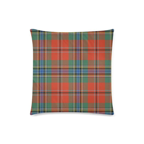 Image of Maclean Of Duart Ancient Tartan Pillow Cases Hj4 One Size / Maclean Of Duart Ancient Back Custom