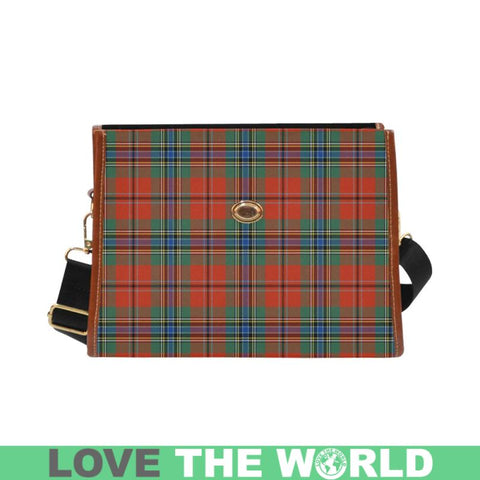 Maclean Of Duart Ancient Tartan Canvas Bag | Waterproof Bag | Scottish Bag
