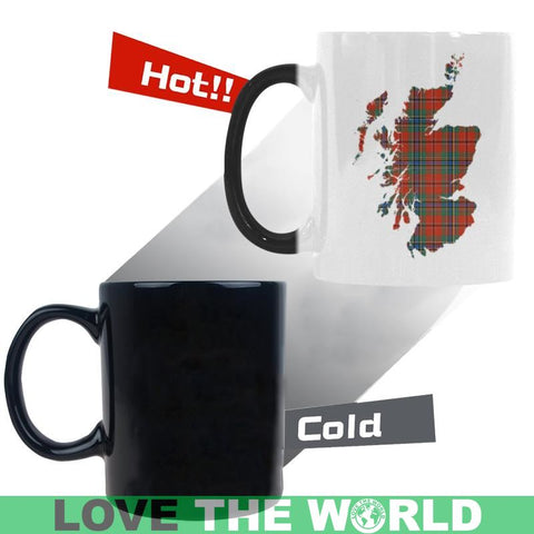 Maclean Of Duart In Me Tartan Morphing Mug Ha9 Mugs