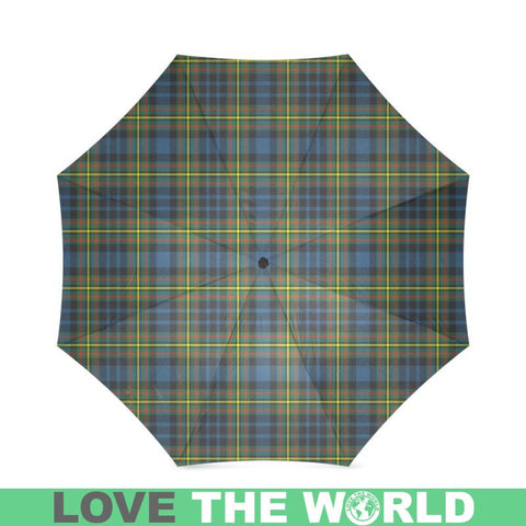 Maclellan Ancient Tartan Foldable Umbrella Th8 |Accessories| 1sttheworld