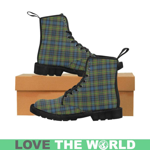 Maclellan Ancient Tartan Martin Boots | Scotland Boots | Over 500 Tartans