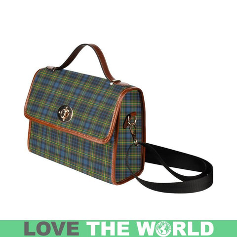 Image of Maclellan Ancient Tartan Plaid Canvas Bag | Online Shopping Scottish Tartans Plaid Handbags