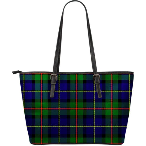 Macleod (Mcleod) Of Harris Modern Tartan Handbag - Large Leather Tartan Bag Th8 |Bags| Love The World