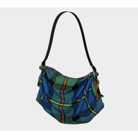 Macleod Of Harris Ancient Tartan Origami Tote H5 Bags
