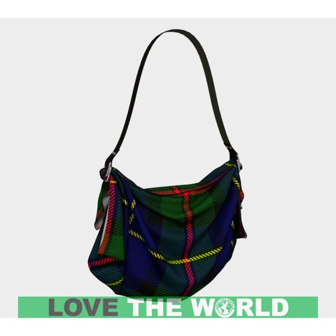 Image of Macleod Of Harris Modern Tartan Origami Tote D5 Bags