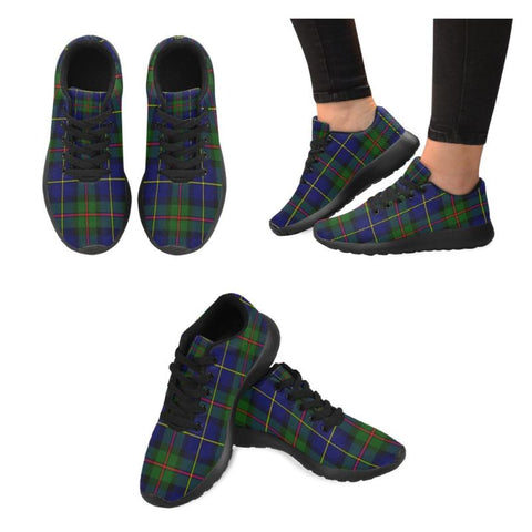 Macleod Of Harris Modern Tartan Running Shoes Hj4 Us5 / Macleod Of Harris Modern Black Mens Running