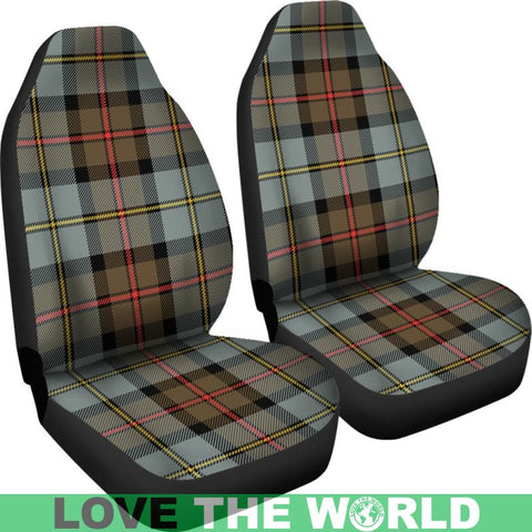 Image of Macleod Of Harris Weathered Tartan Car Seat Cover Nl25