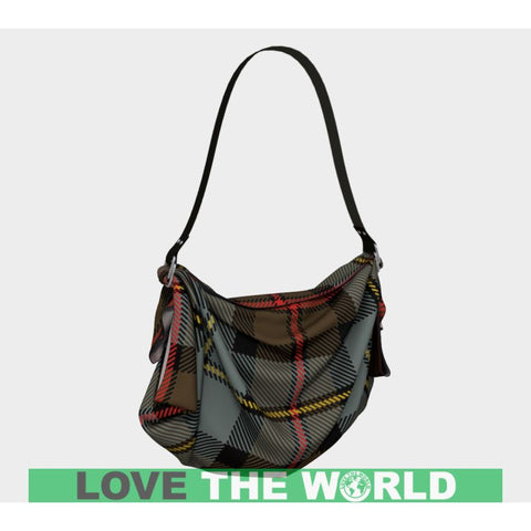 Macleod Of Harris Weathered Tartan Origami Tote D5 Bags