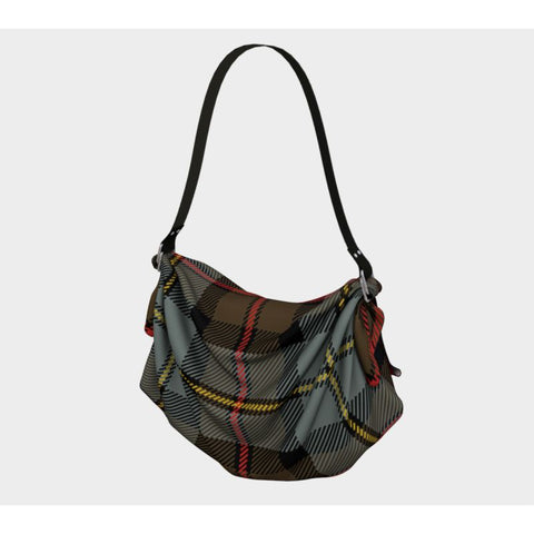 Macleod Of Harris Weathered Tartan Origami Tote H5 Bags