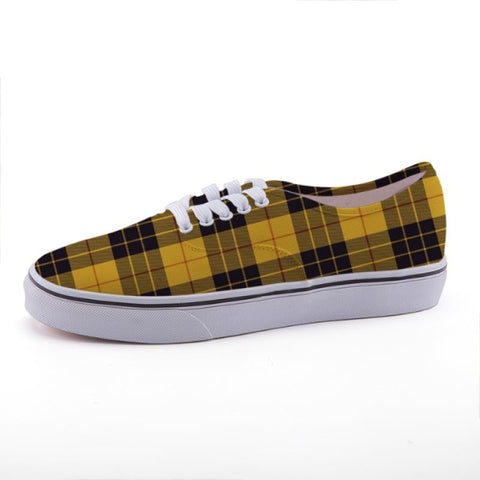 Macleod Of Lewis Ancient Tartan Canvas Shoes C3 35