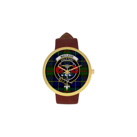 Macleod Clan Badge Tartan Watch