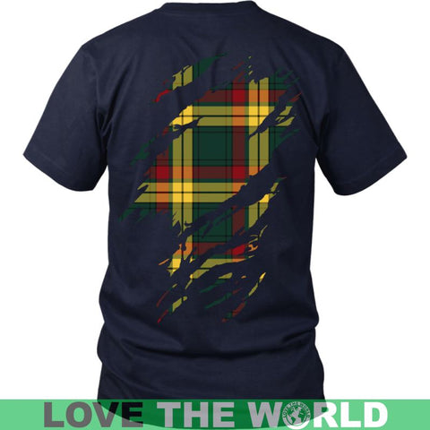 Image of Macmillan In Me T-Shirt Ha8 District Long Sleeve Shirt / Navy S T-Shirts