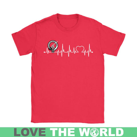 Macmillan In My Heartbeat N9 Gildan Womens T-Shirt / Black S T-Shirts