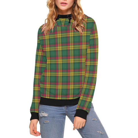 Macmillan Old Ancient Tartan High Neck  Hoodie - Bn |Clothing| 1sttheworld