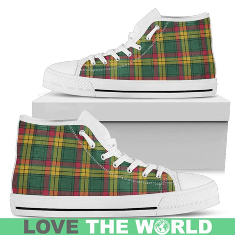 Macmillan Old Ancient Tartan Canvas Shoes Mens - Black Black / Us5 (Eu38)