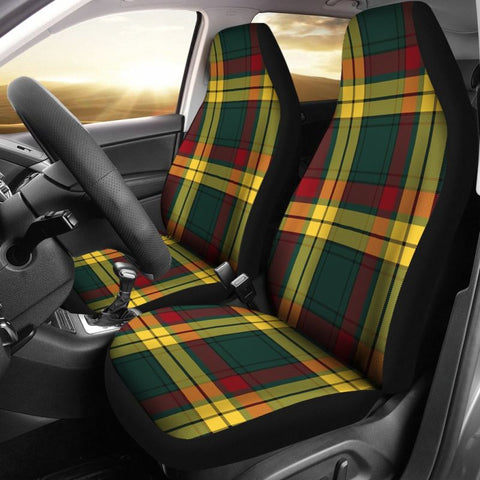 Image of Macmillan Old Modern Tartan Car Seat Cover