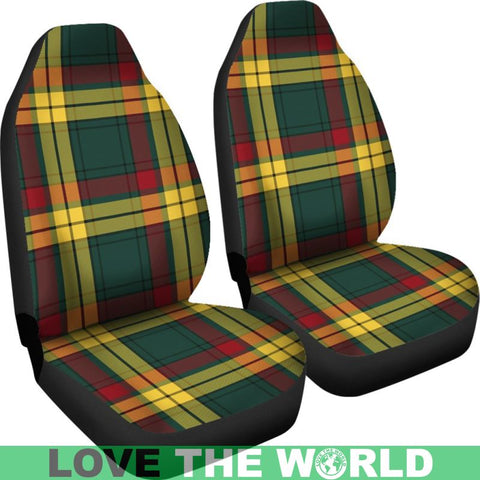 Image of Macmillan Old Modern Tartan Car Seat Cover Nl25
