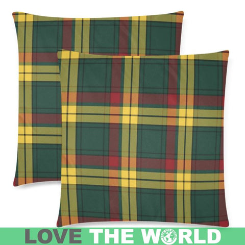 Image of Macmillan Old Modern Tartan Pillow Cases Hj4 One Size / Macmillan Old Modern Back Custom Zippered