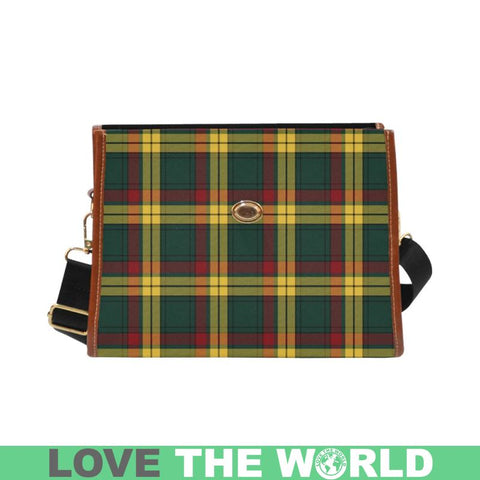 Macmillan Old Modern Tartan Canvas Bag | Waterproof Bag | Scottish Bag