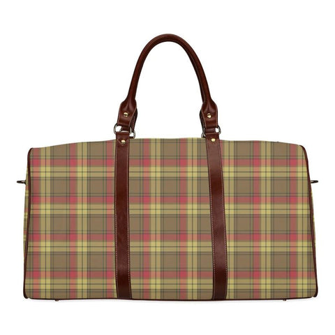 Image of Tartan Travel Bag - Macmillan Old Weathered | Scottish Travel bag | 1sttheworld