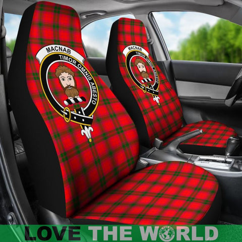 Macnab Clan Badges Tartan Car Seat Cover Ha5