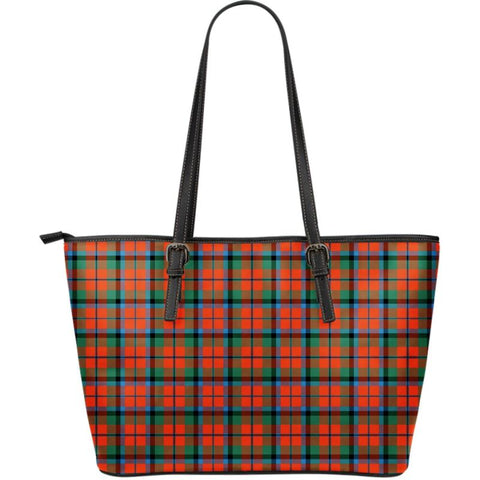 Macnaughton (Mcnaughton) Ancient Tartan Handbag - Large Leather Tartan Bag Th8 |Bags| Love The World