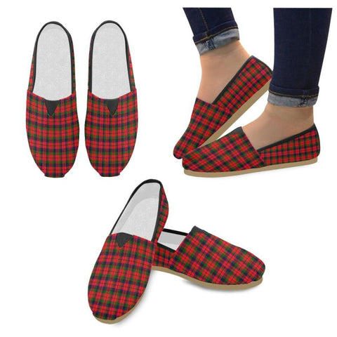 Image of Macnaughton Modern Tartan Womens Casual Shoes S7