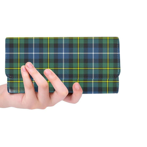 Macneill Of Barra Ancient Tartan Trifold Wallet Hj4 One Size / Macneill Of Barra Ancient Black