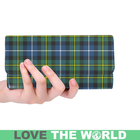 Macneill Of Barra Ancient Tartan Trifold Wallet V4 One Size / Macneill Of Barra Ancient Black Womens